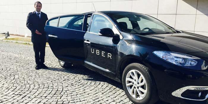 такси uber на Кипре